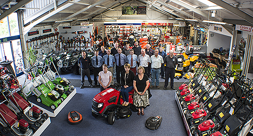 Carters Of Swanwick Showroom & Staff