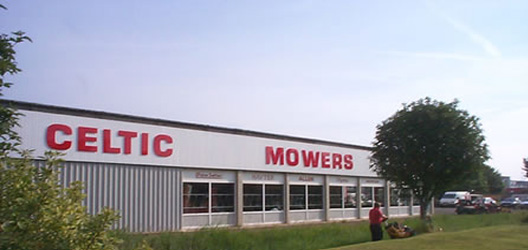 Celtic Mowers Garden Machinery Sales
