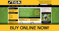 Stiga Lawnmowers and Garden Machinery