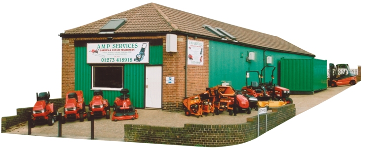AMP Lawnmower Dealers premises
